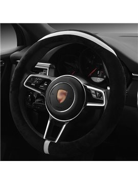 Creative Designed Super Soft Plush Steering Wheel Cover