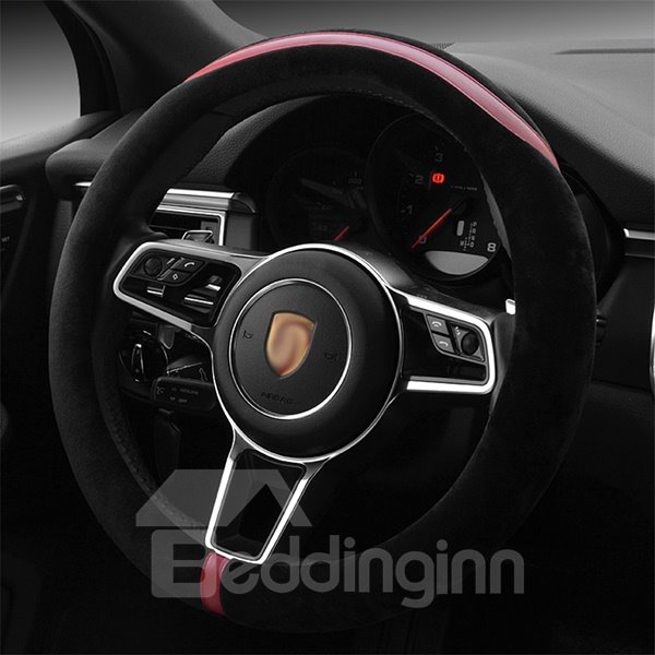 Creative Designed Super Soft Plush Steering Wheel Cover