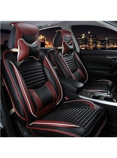 High Quality Comfortable Micro Leather Material Universal Fit Car Seat Cover