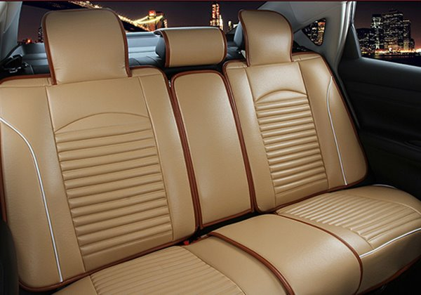 Micro PU Leather Material And Comfortable Universal Car Seat Cover