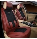Classic Pure Color Style And Leather Material Elegant Universal Car Seat Cover