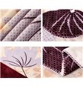 Graceful Maple Leaves Print Super Comfy Blanket
