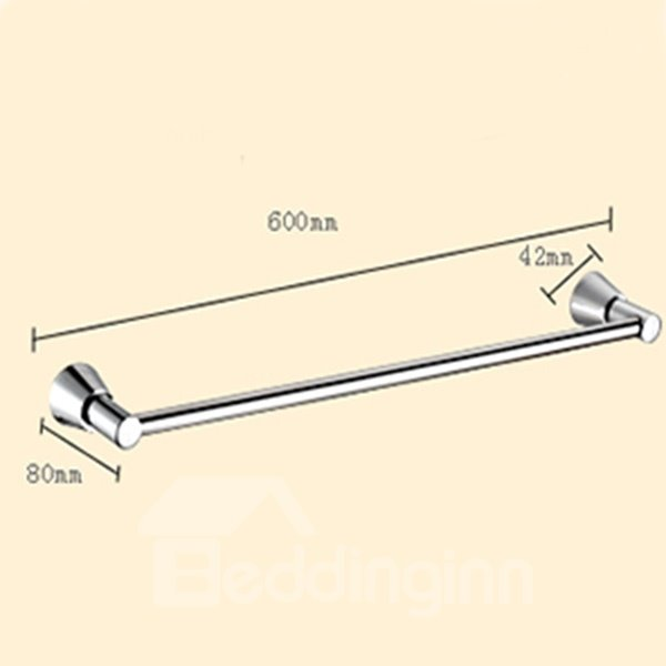 Contemporary Home Decor Thick Stainless Steel Tower Bar