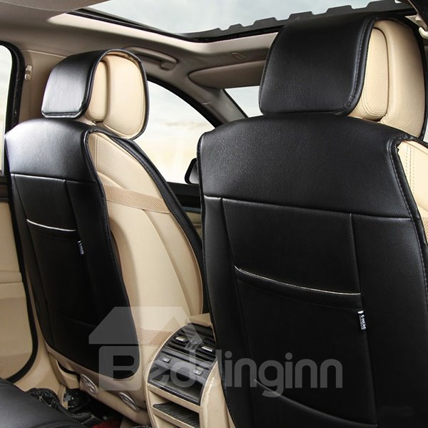 Special Designed Fashionable Pure Color Sport Style PU Leather Material Universal Car Seat Cover