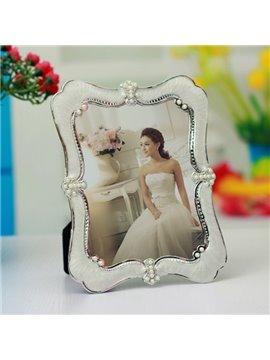 Wonderful Decorative Pearl Desktop 7' Photo Frame