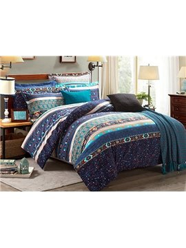 Faddish European Style Cotton 4-Piece Duvet Cover Sets
