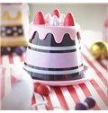 Wonderful Sweet Strawberry Cake Design Plastic Coffee Cup