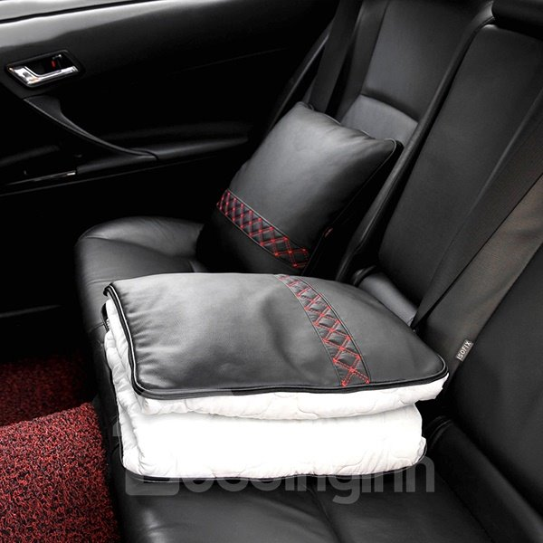 Premium Concise Designed Multifunctional Foldable Blanket Car Pillow