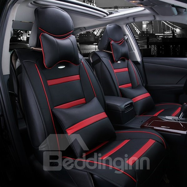 Fashionable and Comfortable Dual Colored Strape Car Seat Cover