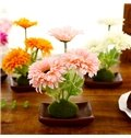 Fabulous Silk Flower Daisy Desktop Decoration Artificial Flower Set