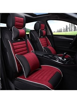 Comfortable Dual Colored Mixing And Most Popular Universal Car Seat Cover