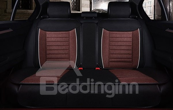 Premium Leather Material Comfortable Dual Color Car Seat Cover