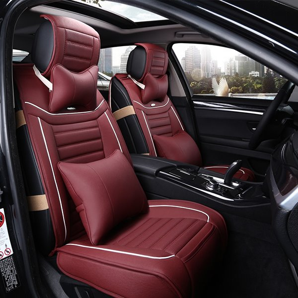 Most Cofortable PU Leather Material Cost-Effective Universal Car Seat Cover