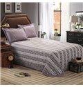 Concise Dark-colored Design Cotton 4-Piece Duvet Cover Sets
