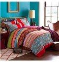 Elegant Jacquard Design Top Grade 4-Piece Duvet Cover Sets