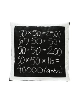 Fashionable Quillow Algebra Designed Cotton Blanket Car Pillow