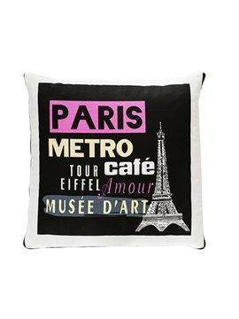 Fashionable Quillow Paris Designed Cotton Blanket Car Pillow