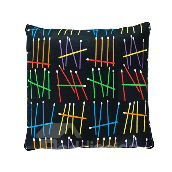 Fashionable Quillow Colorful Matches Cotton Blanket Car Pillow