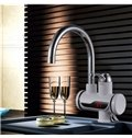 Digit Temperature Display Hot-and-Cold Water Bathroom Kitchen Sink Faucet