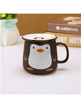Cute Cartoon Animal Penguin Pattern Ceramic Coffee Mug