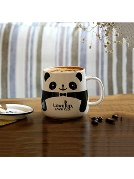 Adorable Cartoon Animal Panda Pattern Ceramic Coffee Mug