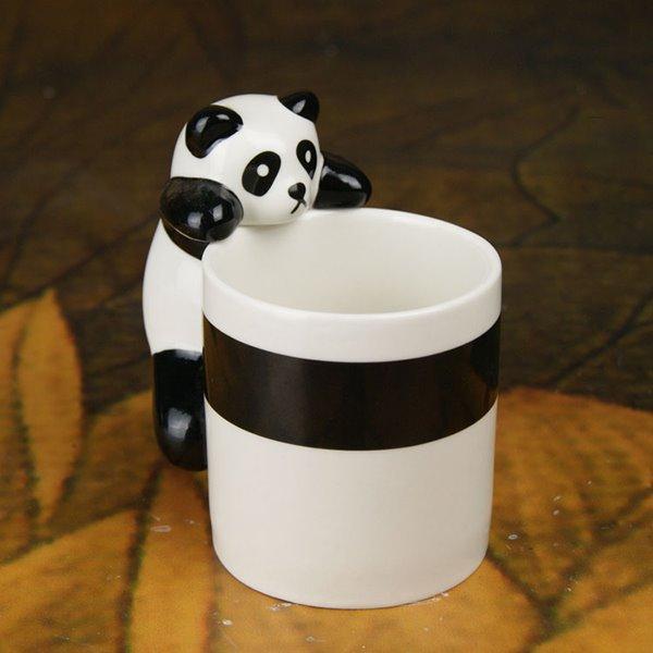 Wonderful 3D Panda on Edge Ceramic Coffee Mug
