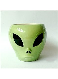 Creative Alien Design Ceramic Coffee Mug Gift Idea