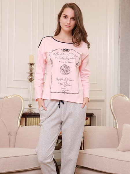 Romantic European Style Concise 100% Cotton Women
