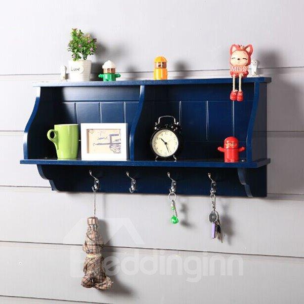 Versatile Wall Decoration Storage Wall Hook/Shelf