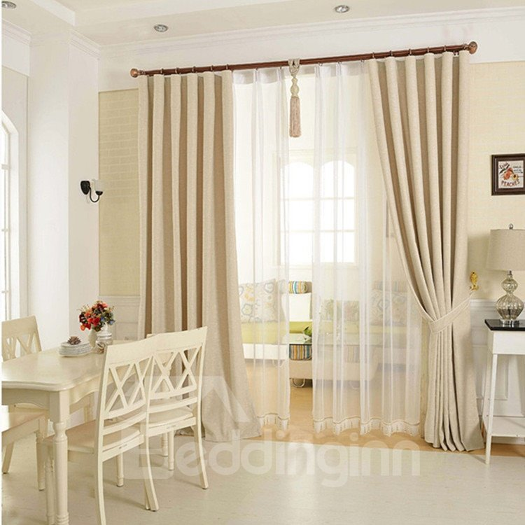 Modern Fashionable Double Pinch Pleat Curtain