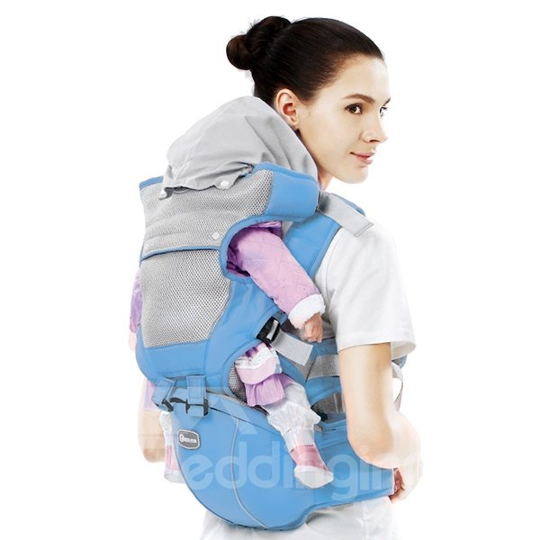 Lovely Lake Blue Multi-Functional Baby Hip Seat Carrier