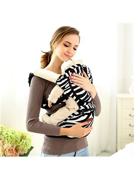 Cute Zebra Pattern Multi-Functional Baby Hip Seat Carrier