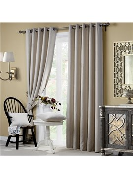 Wonderful High Shading Degree Grommet Top Curtain