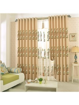 Modern Fashion High Quality Grommet Top Curtain