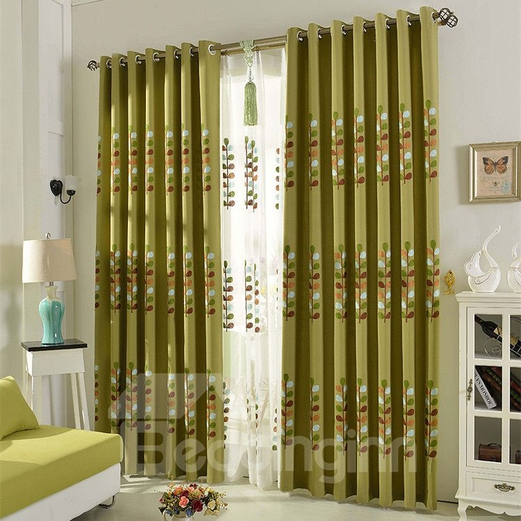 Modern Top Quality Grommet Top Curtain
