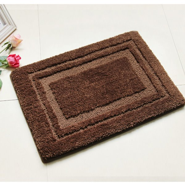 High Class Noble Soft Cozy Solid Color Bath Rug