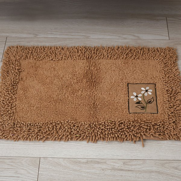 Contemporary Home Decor Solid Color Bath Rug Beddinginn Com