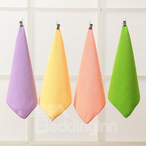 Fashion Concise Solid Color Ultrafine Fiber Tower