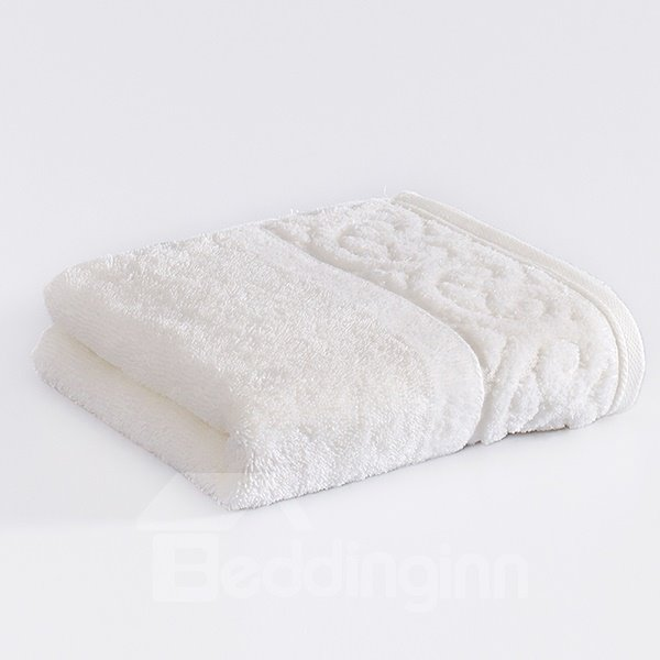 High Class Noble Solid Color 100% Cotton Thick Face & Hand Towel