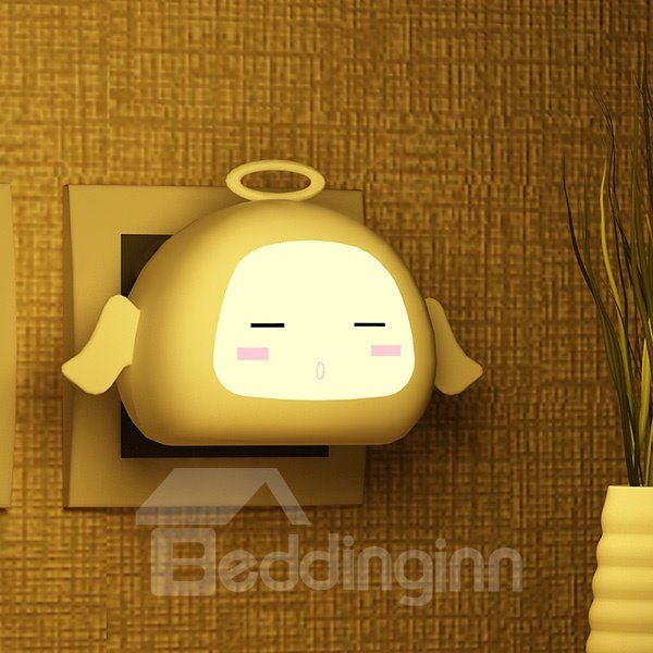 Adorable Cartoon Angel Monkey Nightlight LED Light