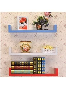Creative U-Shaped 1-Piece Wall Shelf
