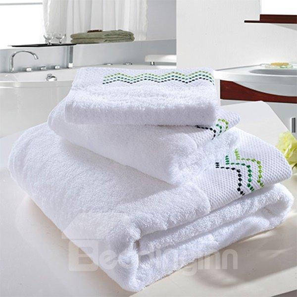 High Class Hotel Quality Thick 100% Cotton Bath Tower Set
