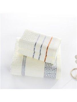 Noble Graceful Style 100% Cotton Bath Tower Set