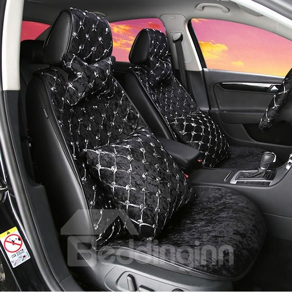 Special Designed Fashionable Short Plush Universal Fit Car Seat Cover