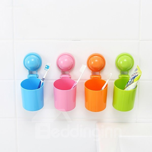 Innovative Design Bright Solid Color Toothbrush Cup 11598543