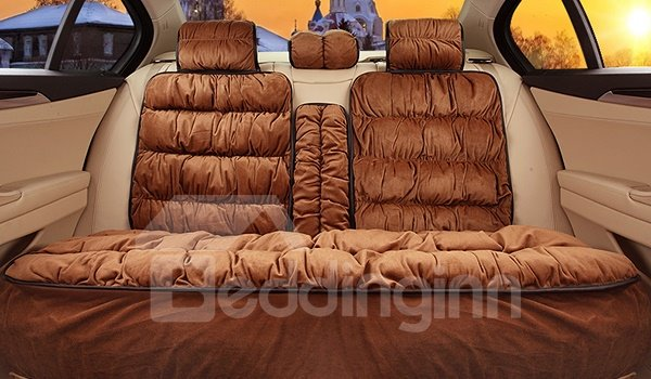 Super Comfortable and Durable Short Plush Designed Universal Fit Car Seat Cover