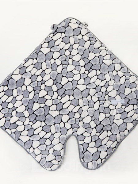 Lovely Little Gray Bear Warm&Soft Coral Fleece Baby Sleeping Bag