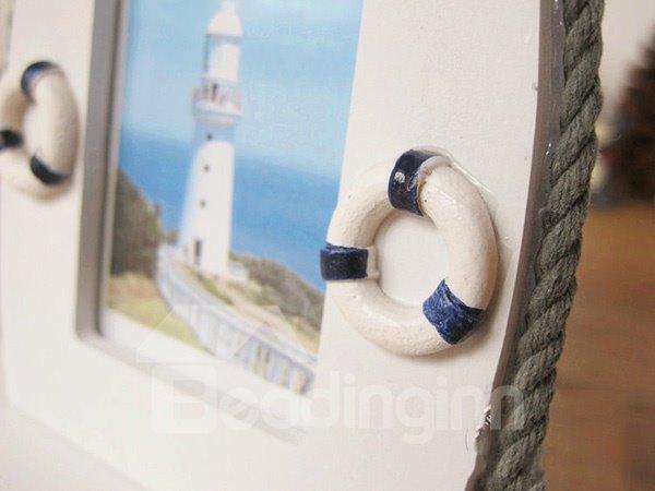 Wonderful Seafaring Theme Wooden Desktop Photo Frame
