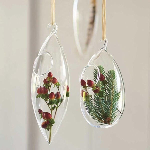 Exquisite Glass Hanging Flower Vases