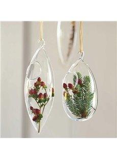 Exquisite Glass Hanging Flower Vases